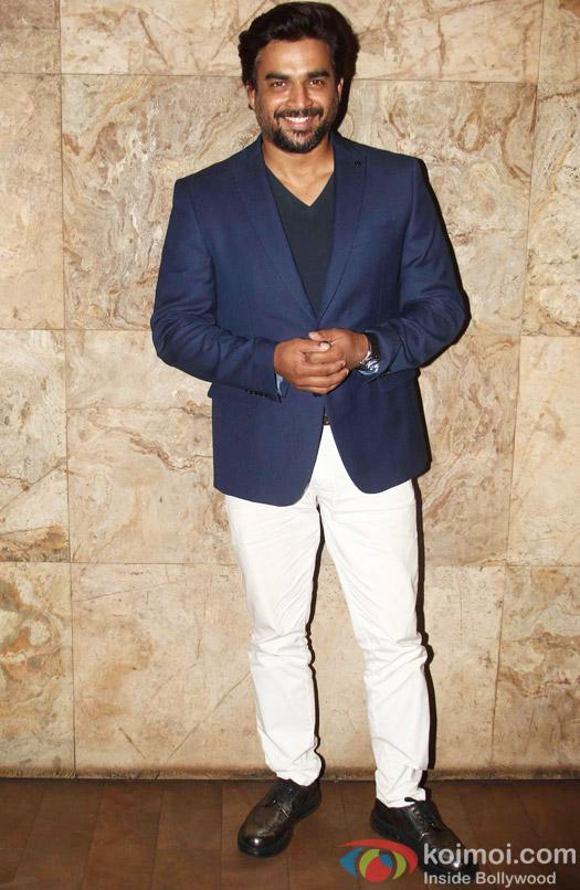 R. Madhavan during the special screening of Tanu Weds Manu Returns