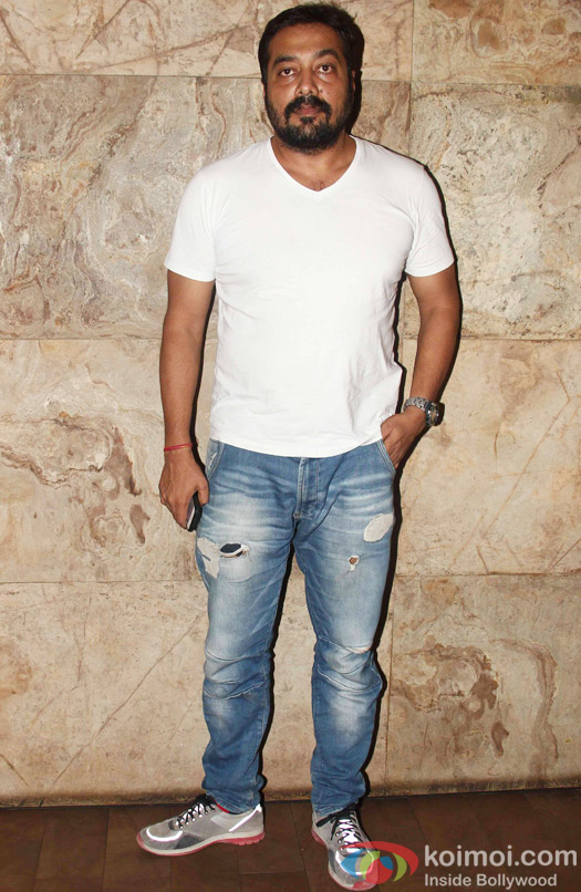 Anurag Kashyap during the special screening of Tanu Weds Manu Returns