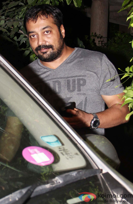 Anurag Kashyap spotted at Ranbir Kapoor's house