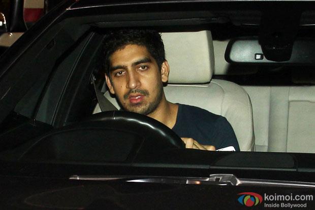 Ayan Mukerji spotted at Ranbir Kapoor's house