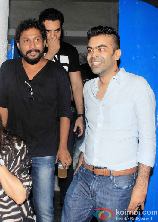 Shoojit Sircar at the party hosted by Deepika padukone for the succes of movie Piku