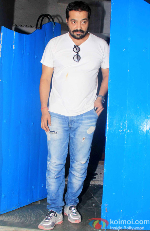Anurag Kashyap at the party hosted by Deepika padukone for the succes of movie Piku
