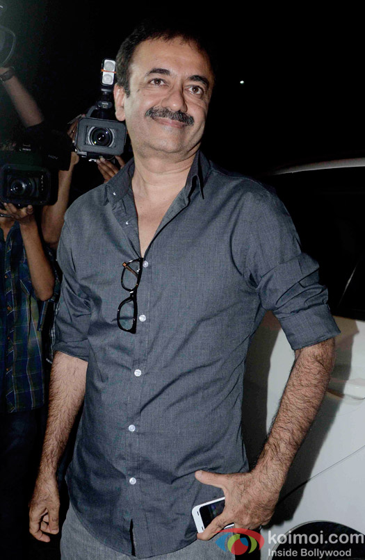 Rajkumar Hirani at the party hosted by Deepika padukone for the succes of movie Piku