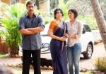 Ajay Devgn and Shriya Saran in Drishyam Movie Stills Pic 1