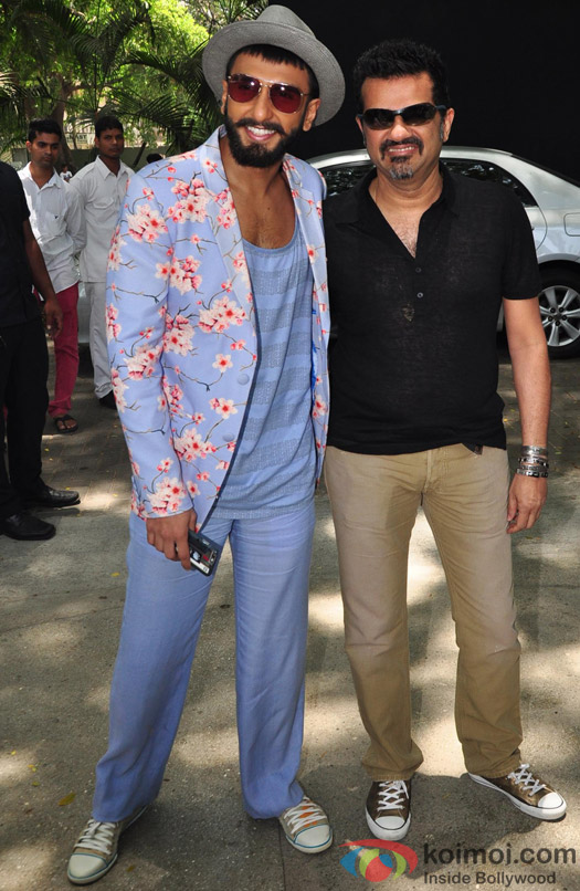 ranveer Singh and Ehsaan