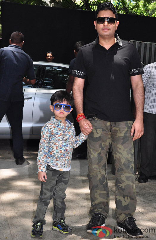 Bhushan Kumar with son