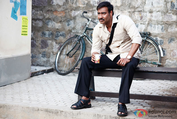 First Look : Ajay Devgn As A Middle-Class Man In 'Drishyam'