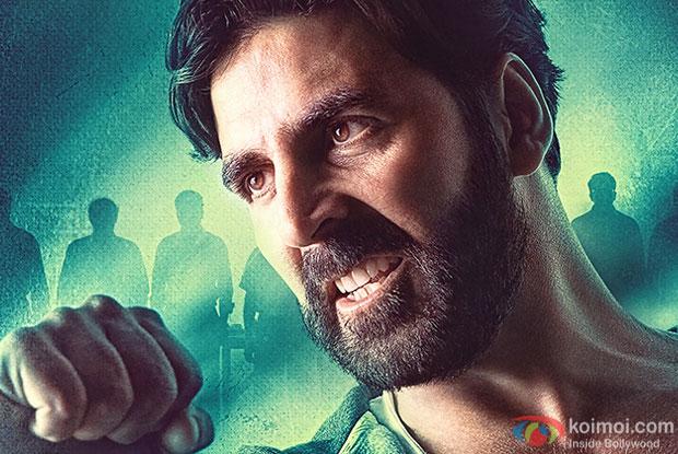 Akshay Kumar in still from 'Gabbar Is Back' movie poster
