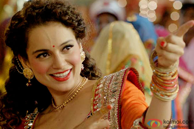 Kangna Ranaut in a still from movie 'Tanu Weds Manu Returns'