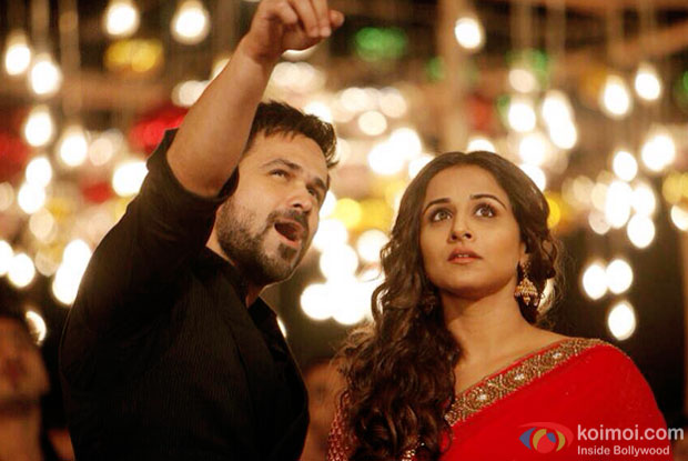 Emraan Hashmi and Vidya Balan in a still from movie 'Hamari Adhuri Kahani'