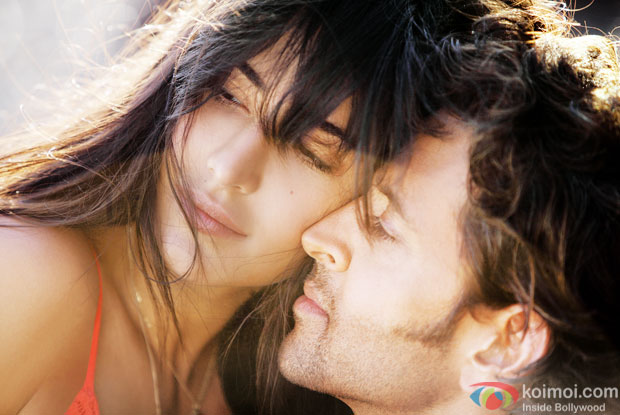 Katrina Kaif and Hrithik Roshan in a still from movie 'Bang Bang'