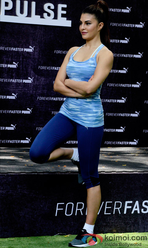 Jacqueline Fernandez Snapped At The Launch Of  Puma Pulse
