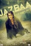 Aishwarya Rai in a Jazbaa Movie Poster