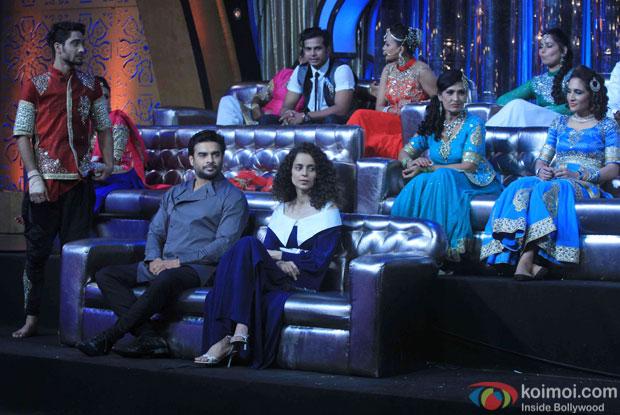 R. Madhavan and Kangana Ranaut prmote Tanu Weds Manu Returns on the sets of DID Super MOM