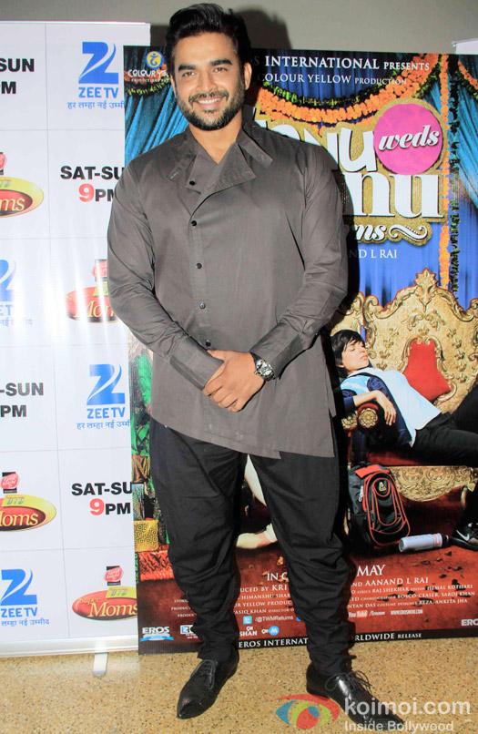 R. Madhavan prmote Tanu Weds Manu Returns on the sets of DID Super MOM