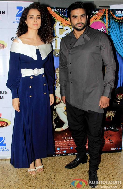 Kangana Ranaut and R. Madhavan prmote Tanu Weds Manu Returns on the sets of DID Super MOM