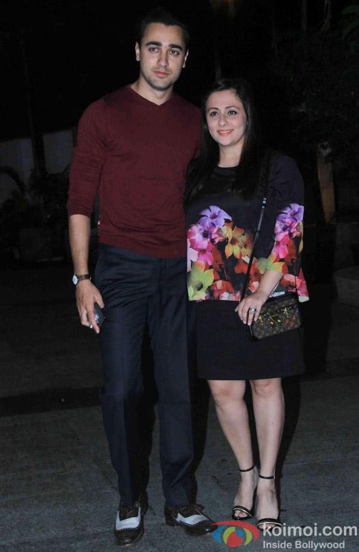 Imran Khan and Avantika Malik Khan