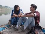 Shweta Tripathi and Vicky Kaushal in Masaan Movie Stills Pic 1