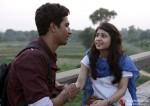 Vicky Kaushal and Shweta Tripathi in Masaan Movie Stills Pic 1