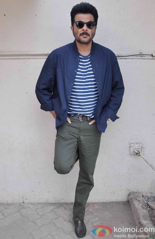 Anil Kapoor during the media interaction of movie Dil Dhadakne Do