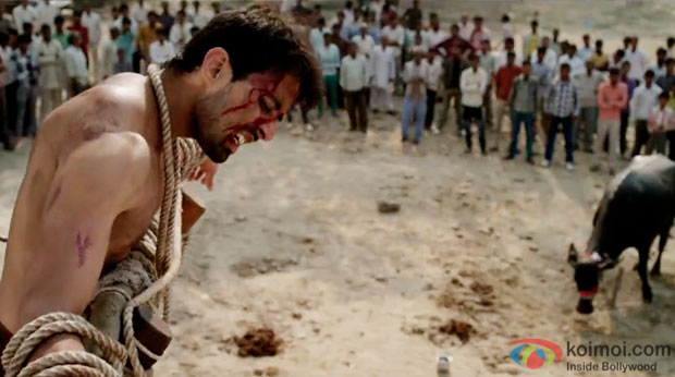 Rahul Bagga in a still from movie 'Miss Tanakpur Haazi Ho'