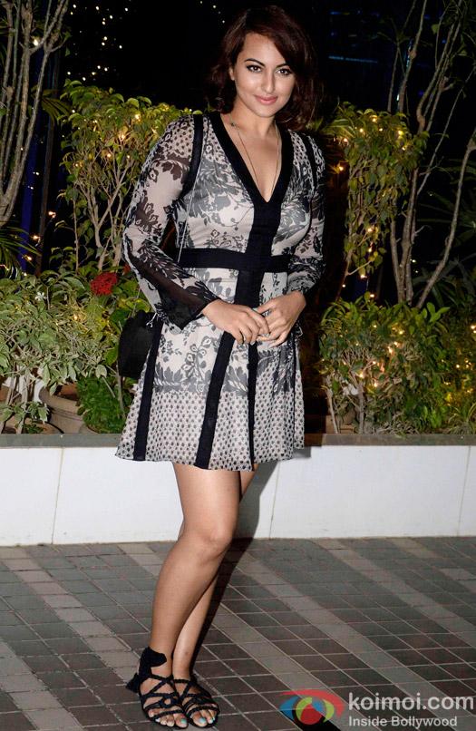 Sonakshi Sinha during the Omung Kumar's 'Mary Kom' success bash