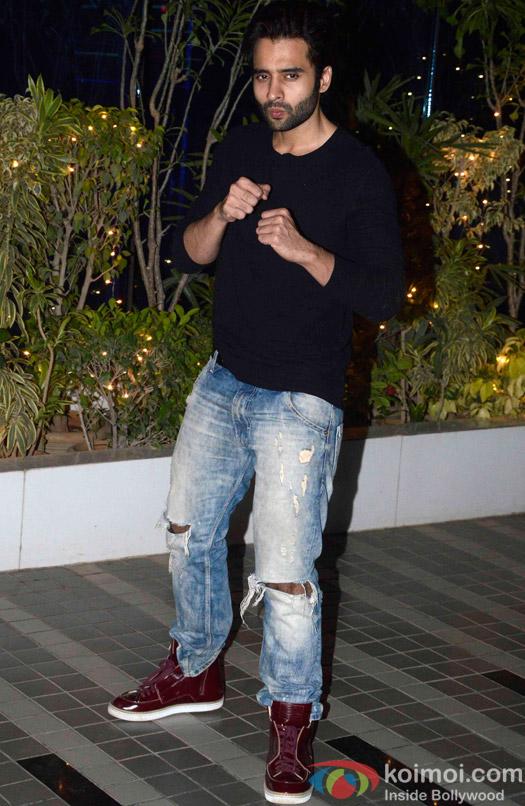 Jackky Bhagnani during the Omung Kumar's 'Mary Kom' success bash