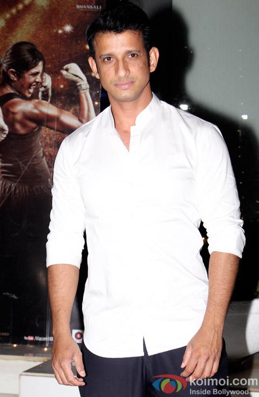 Sharman Joshi during the Omung Kumar's 'Mary Kom' success bash