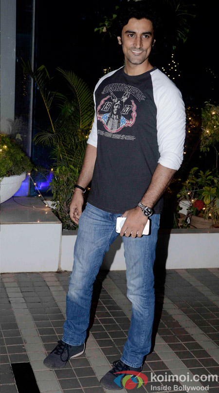 Kunal Kapoor during the Omung Kumar's 'Mary Kom' success bash