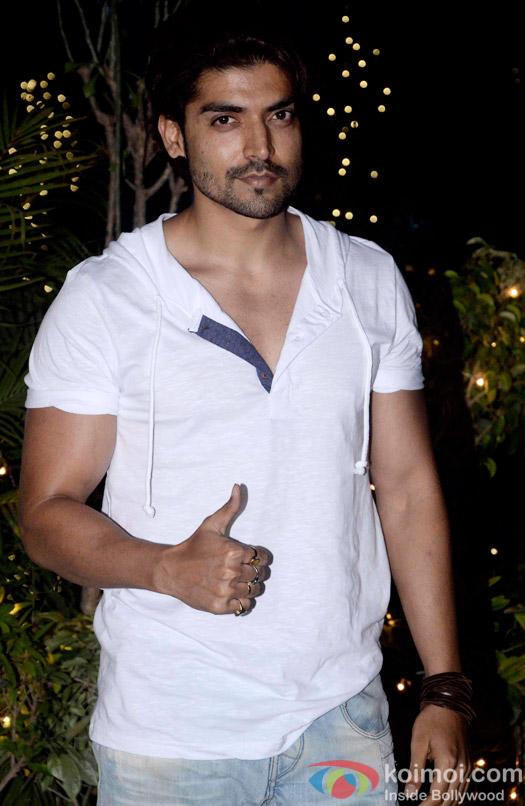 Gurmeet Choudhary during the Omung Kumar's 'Mary Kom' success bash