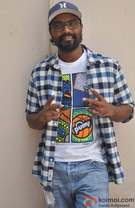 Remo D'souza during the Promotion of ABCD 2 at Mehboob studio