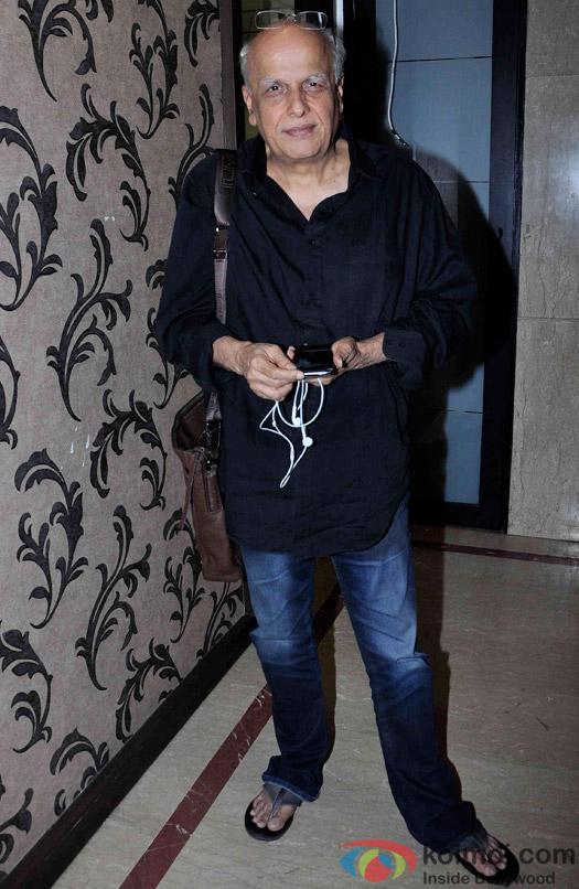 Mahesh Bhatt during the promotion of 'Hamari Adhuri Kahani'