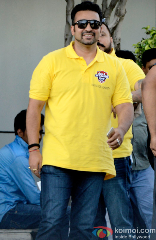 Raj Kundra Spotted At Airport