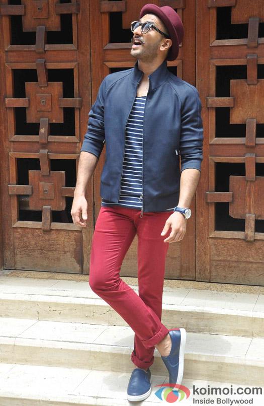 Ranveer Singh spotted at Mehboob studio