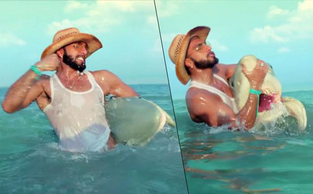 Ranveer Singh's in a still from  'Rupa Frontline' Ad