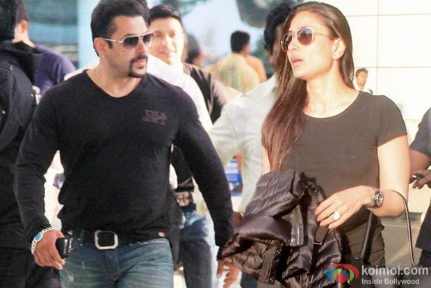 Salman Khan, Kareena Kapoor Return From Bajrangi Bhaijaan Shoot