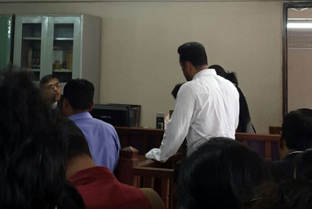 Salman Khan at session court in mumbai for hit and run case
