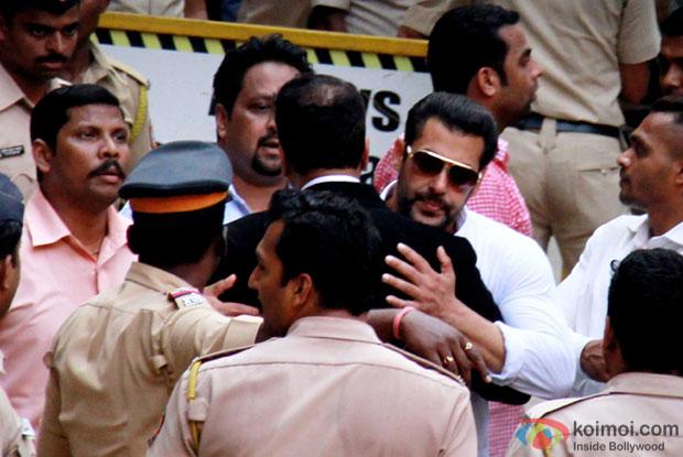 Salman Khan at Bombay High Court