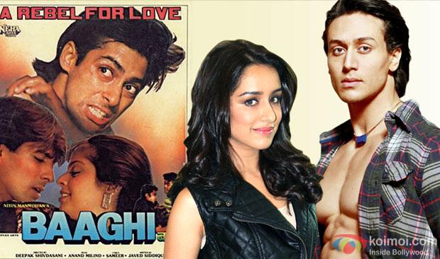 Salman Khan's Baaghi Remake : Tiger Shroff, Shraddha Kapoor Turn Rebels In Love