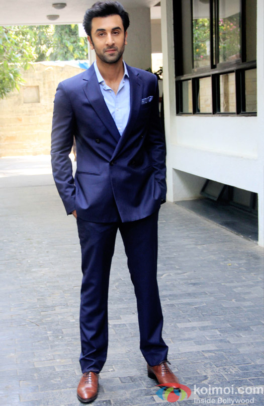 Ranbir Kapoor during the Shashi Kapoor awarded with Dadasaheb Phalke award