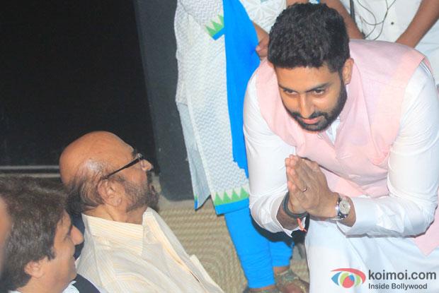 Abhishek Bachchan during the Shashi Kapoor awarded with Dadasaheb Phalke award