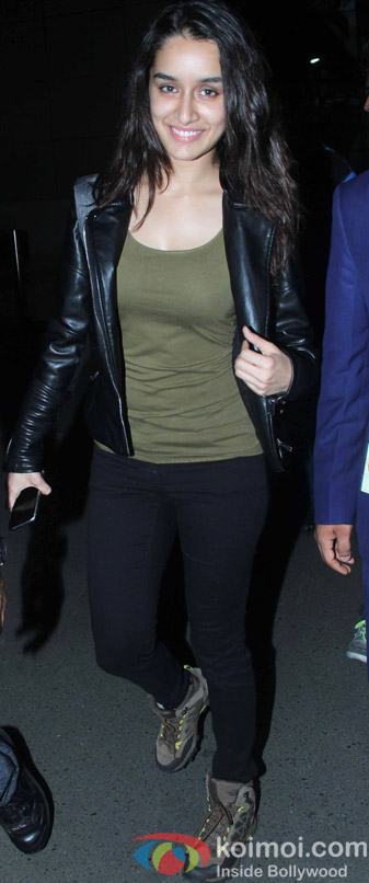 Shraddha Kapoor Spotted At Airport