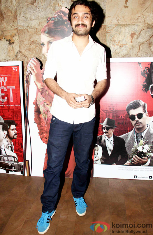 Siddhanth Kapoor during the special screening of Bombay Velvet at Lightbox