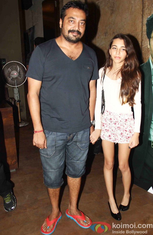 Anurag Kashyap during the special screening of Bombay Velvet at Lightbox