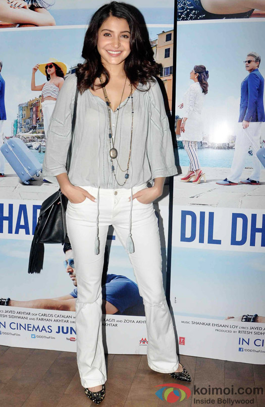 Anushka Sharma during the special screening of Dil Dhadakne Do at Lightbox