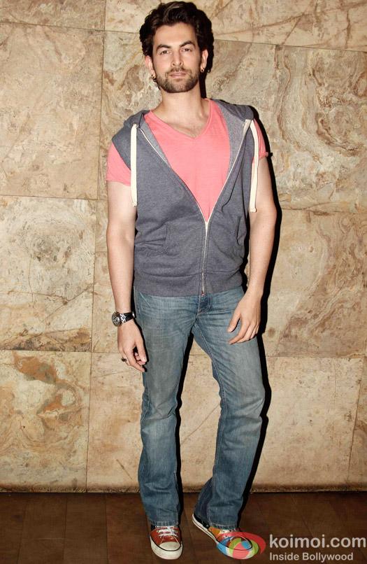 Niel Nitin Mukesh during the special screening of Tanu Weds Manu Returns at Lightbox