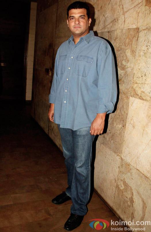 Siddharth Roy Kapur during the special screening of Tanu Weds Manu Returns at Lightbox