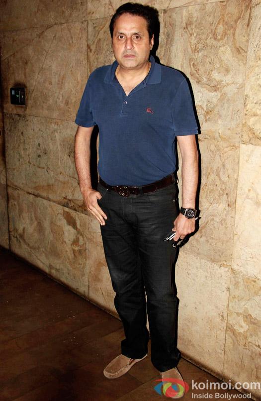 Sunil Lulla during the special screening of Tanu Weds Manu Returns at Lightbox