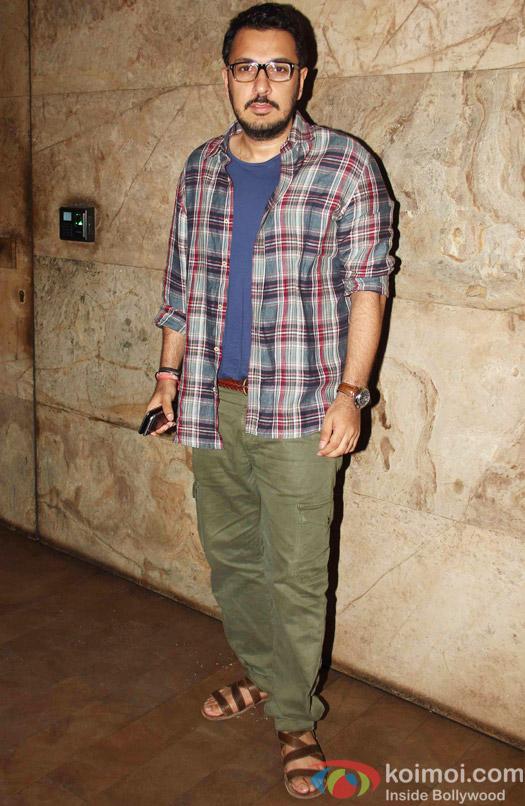Dinesh Vijan during the special screening of Tanu Weds Manu Returns at Lightbox