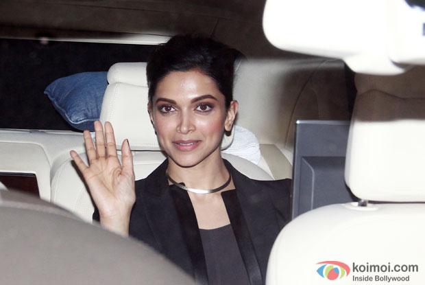 Deepika Padukone At Piku Special Screening
